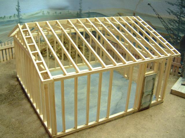 Scale Model Garage