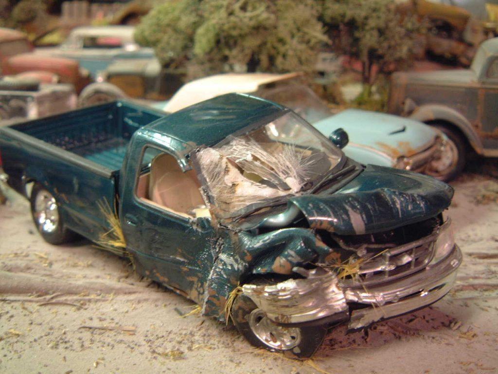 Unrestored Truck Junker Models ⋆ 125scale