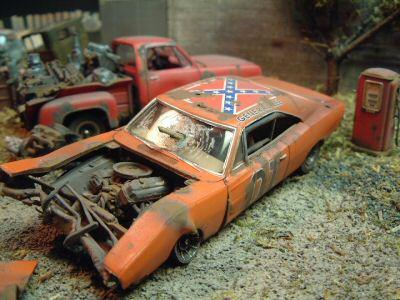 Dukes Of Hazzard Mopar Wrecks ⋆ 125scale