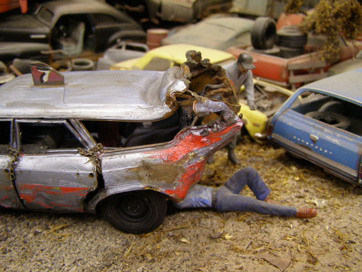 Demolition Derby Car Scale - Derby cars