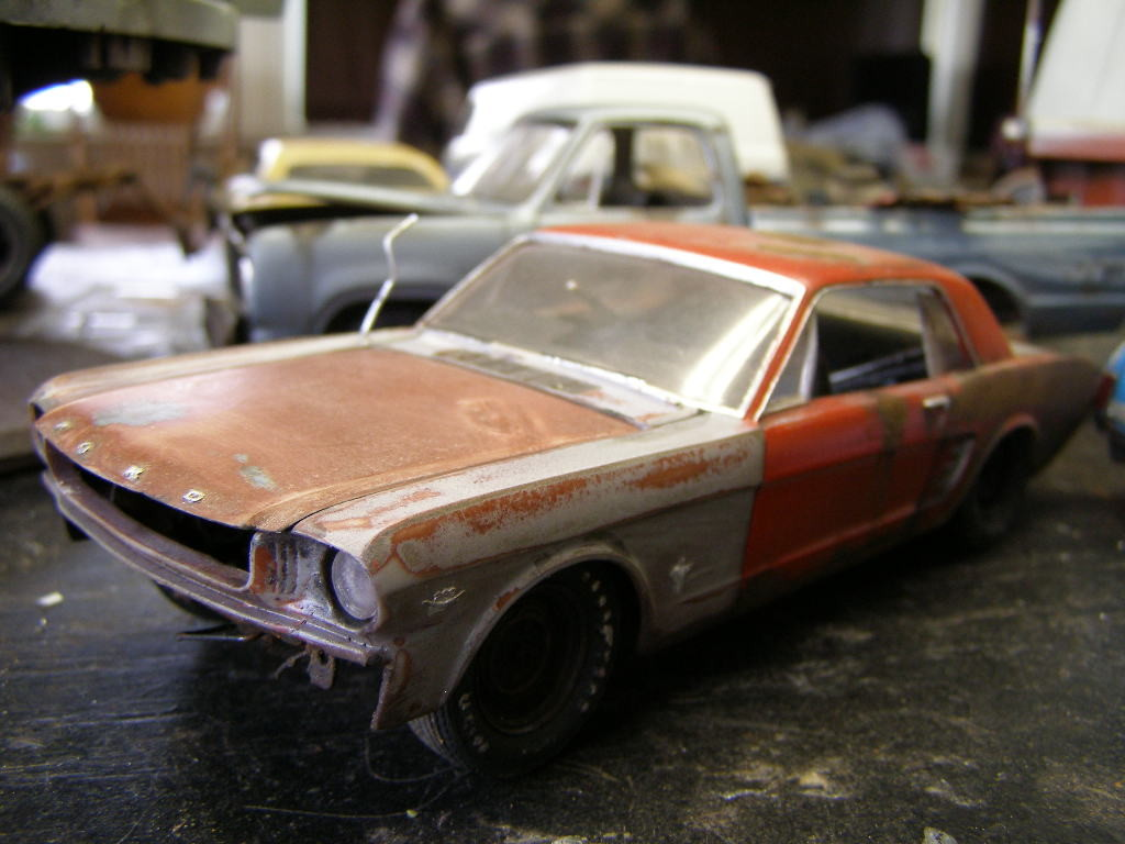 66 Mustang Coupe Blog, Ford ⋆ 125scale