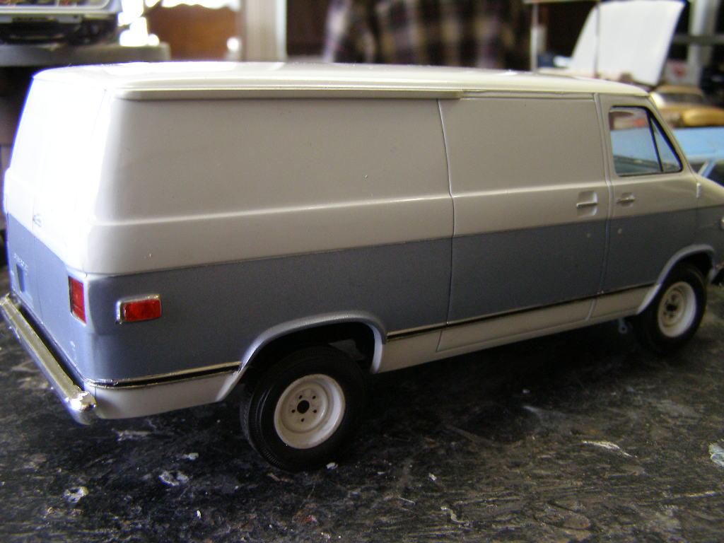 1/25 Scale Chevy Van Chevy, Trucks ⋆ 125scale