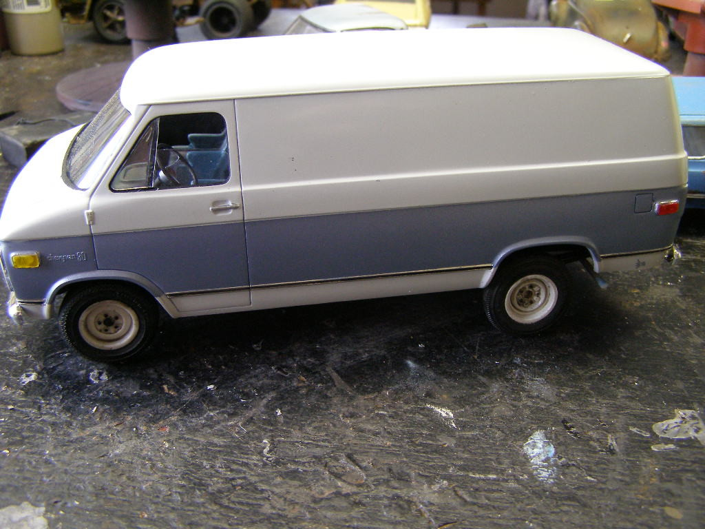 1 25 scale chevy van chevy trucks 125scale. Black Bedroom Furniture Sets. Home Design Ideas
