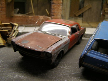 1/25 Mustang