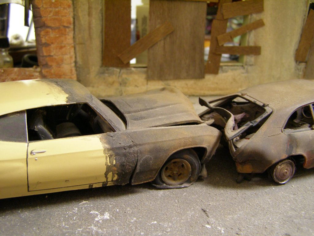 Ford Pinto Rear End Collision