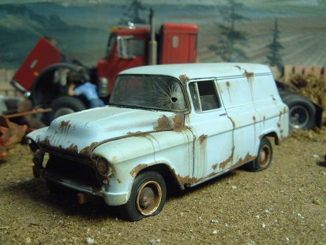 55 57 Chevy Panel Van Blog Chevy Trucks ⋆ 125scale