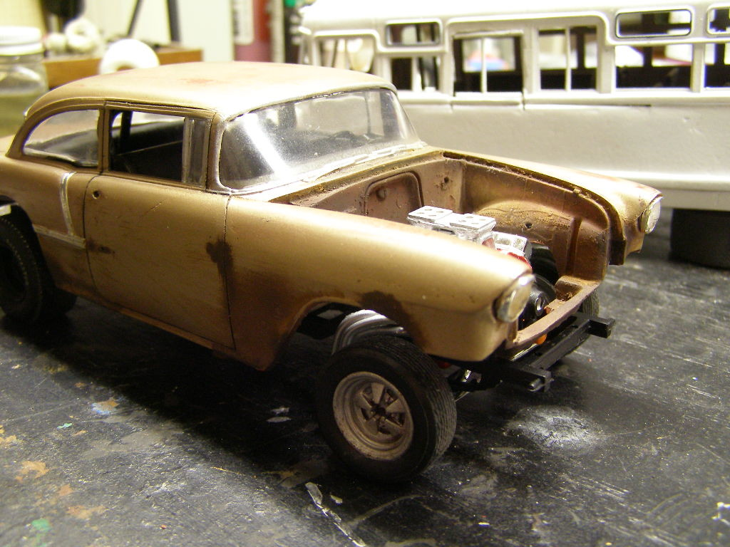 55 Chevy Gasser Blog, Chevy ⋆ 1/25 Scale Models