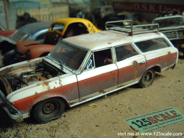ideas for garages workshop - Junkyard Junker Chevy Wagon Blog Chevy ⋆ 1 25 Scale Models